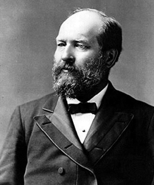 James Abram Garfield – 20th president of America