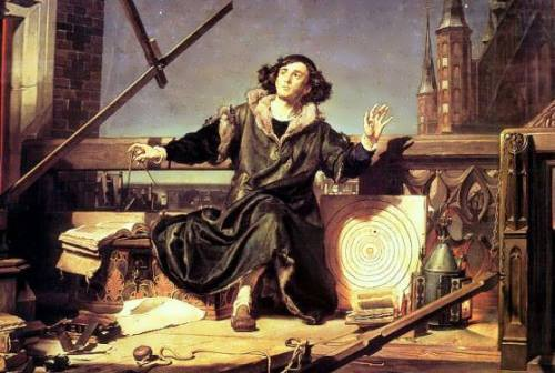Jan Matejko. Copernicus in his observatory