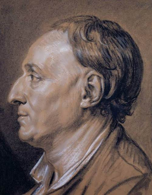Jean-Baptiste Greuze. Portrait of Diderot