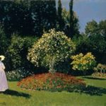 Jeanne-Marguerite Lecadre in the Garden, 1866