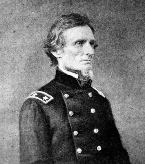 Jefferson Davis - president of the Confederate States of America during the Civil War