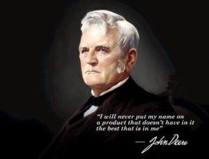Portrait of John Deere
