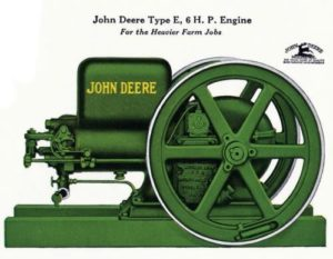 John Deere Type E, 6 H.P. Engine