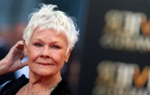 Judi Dench – elegant woman