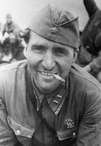 Simonov – war correspondent