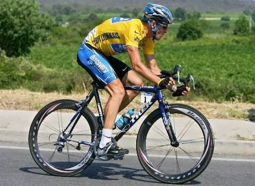 Lance Armstrong – great cyclist