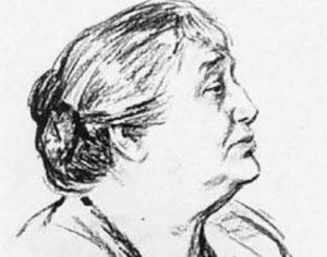 M. Lyangleben. Akhmatova, 1964
