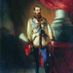 K.E. Makovsky. Portrait of Emperor Alexander II, 1860