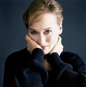 Streep - American film and stage actress