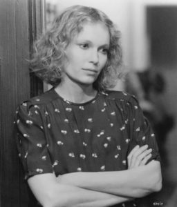 Mia Farrow in the film Hannah and Her Sisters