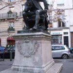 Monument to Diderot in Paris