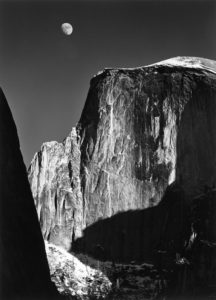 Moon and Half Dome, 1960