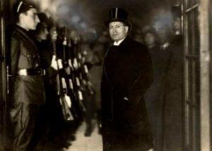 Benito Mussolini in 1928