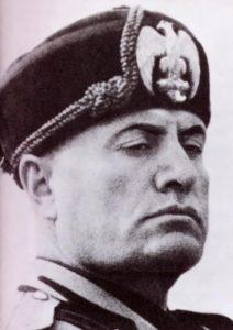 Mussolini - Italian politician and statesman