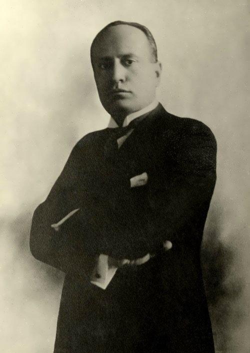 Benito Mussolini – Italian dictator