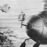 Imaginary submarine the Nautilus