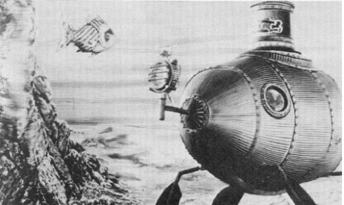 Imaginary submarine the Nautilus