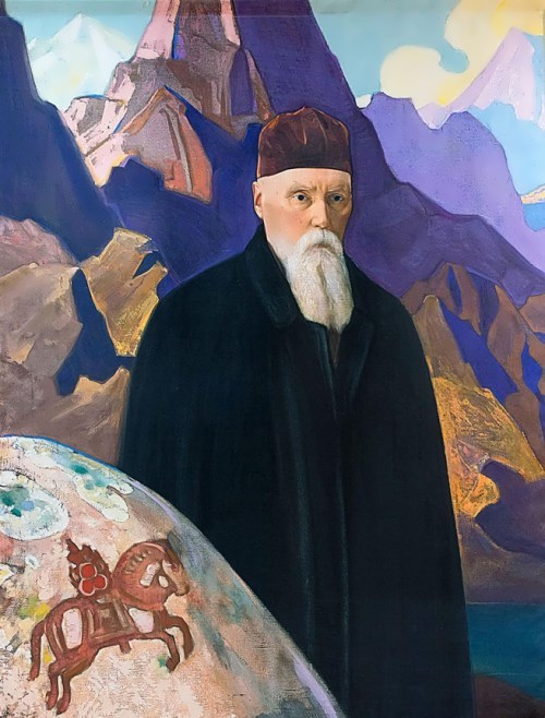 Roerich - poet, writer, and art critic