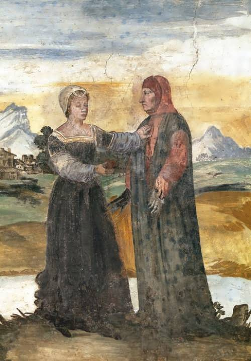 Francesco Petrarca and Laura