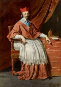 Philippe de Champaigne. Portrait of Armand Jean du Plessis de Richelieu, 1636