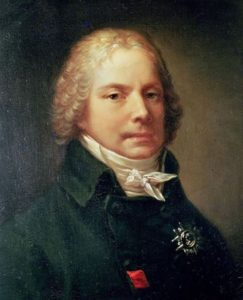 Pierre-Paul Prud'hon (1758-1823). Portrait of Charles Maurice de Talleyrand-Perigord