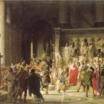 Raffaele Giannetti. The Last Senate of Julius Caesar. 1867