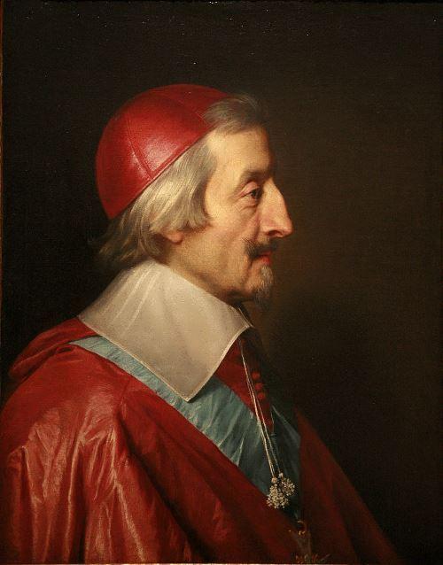 Philippe de Champaigne. Cardinal de Richelieu, 1642
