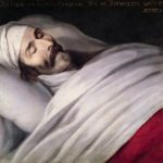 Philippe de Champaigne. Cardinal Richelieu on his deathbed