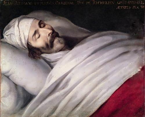 Philippe de Champaigne. Cardinal Richelieu on his deathbed