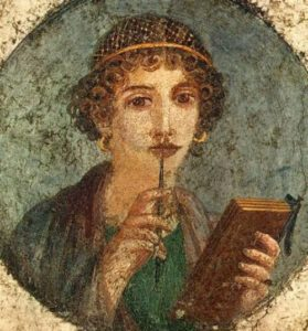 Sappho - the greatest female poet of antiquity