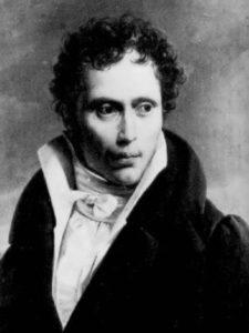 Schopenhauer in 1818