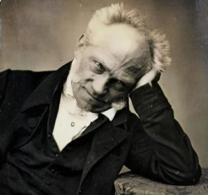 Schopenhauer - one of the greatest philosophers, 1852