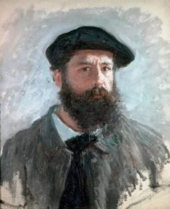 Claude Monet – Great Impressionist. Self Portrait with a Beret, 1886
