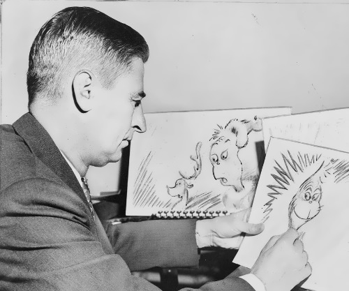 Dr. Seuss – American cartoonist