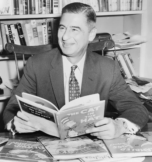Dr. Seuss – American cartoonist