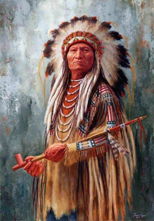 Sitting Bull - leader of the Sioux people