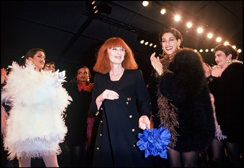 Sonia Rykiel - French fashion designer