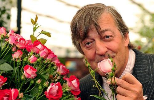 Stephen John Fry - British actor