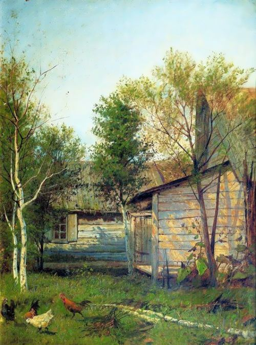 Sunny day. Spring, 1877