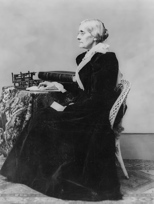 Susan B. Anthony - fighter for civil rights of women