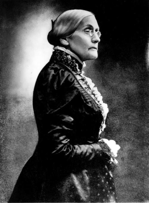 Susan B. Anthony - leader of suffragettes