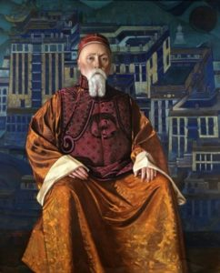 Svyatoslav Roerich. Portrait of Nicholas Roerich