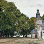 The Chapel of Notre-Dame-de-Grace, Honfleur, 1864