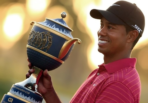 Tiger – outstanding sportsman