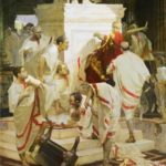 Vitaly Grafov. The murder of Caesar. 2003