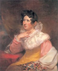 Portrait of Lucretia Pickering Walker Morse, 1822. Mead art Museum, Amherst College