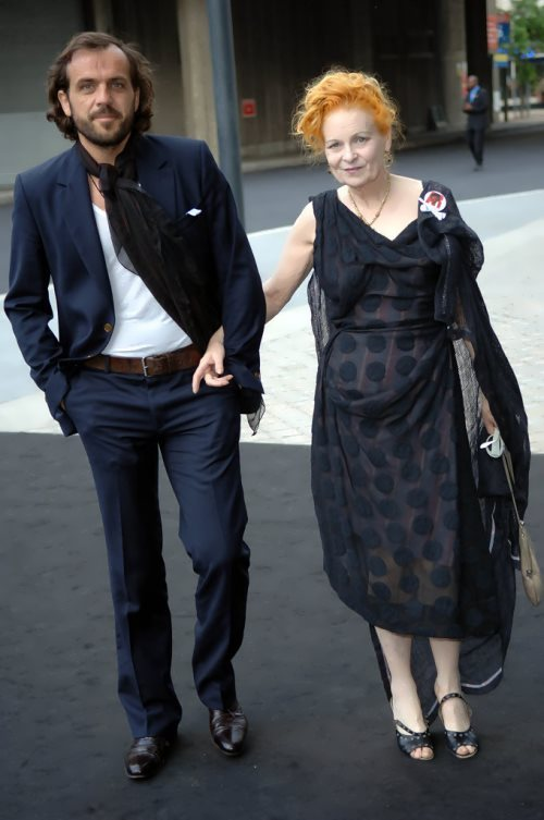 Vivienne and her husband Andreas Kronthaler