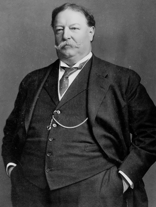 William Howard Taft – US president