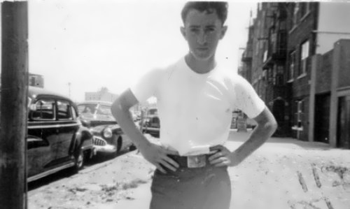 Woody in his youth