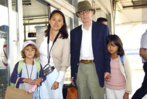 Woody, Soon-Yi and their children